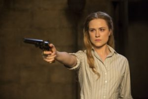 Gunslinger Delores (Rachel Evan Wood)
